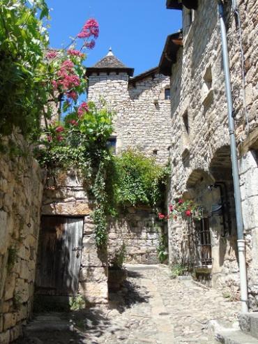 sainte-enimie, cité médiévale