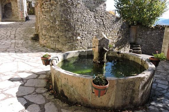 Fontaine de barre des Cévennes