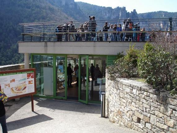 La terrasse d'observation