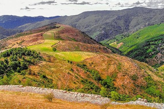 Panorama corniche des Cevennes