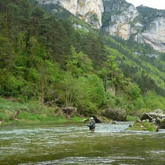 Pêche en sud Lozère
